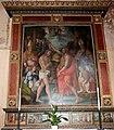Bacchiacca, battesimo di cristo, con cornice del tribolo e di giovan battista del verrocchio, 01.jpg