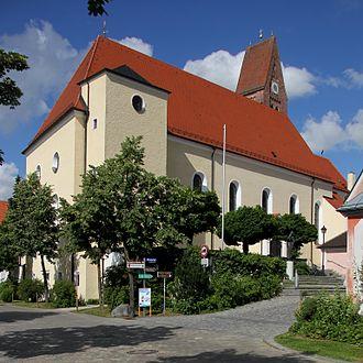 Bad Wörishofen - St. Justina Church at Bad Wörishofen