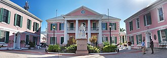 Politics of the Bahamas - Bahamian Parliament, located in downtown Nassau