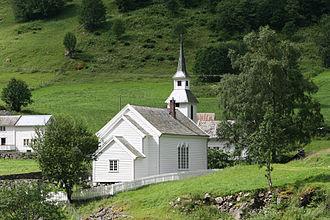 Bakka, Sogn og Fjordane - Image: Bakka kirke