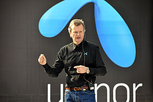 Telenor India - Telenor CEO Jon Fredrik Baksaas launching Uninor in 2009