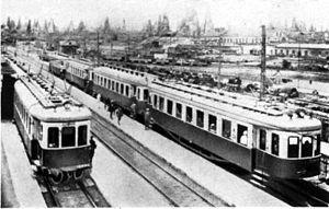 Sabunçu, Baku - Sabunchu Railway Station in 1926