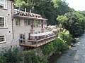 Balcony overlooking the Teme at Ludford - geograph.org.uk - 1465918.jpg