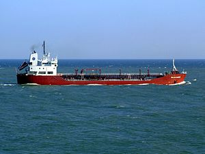 Baltic Claire p4 approaching Port of Rotterdam, Holland 19-Apr-2007.jpg