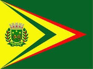 Bauru - Image: Bandeira Bauru