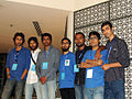 Bangla Wikimedian at Bengali Wikipedia 10th Anniversay Gala Event in Dhaka by Mayeenul Islam.jpg