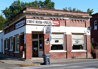 National Register of Historic Places listings in Latah County, Idaho - Image: Bank of Juliaetta Juliaetta Idaho