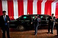 Barack Obama's limousine at Istiqlal Mosque.jpg