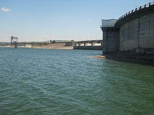 Stânca-Costești Dam - Image: Barajul Stânca Costesti