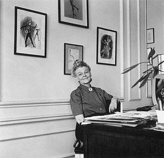 Barbara Karinska - Barbara Karinska in her London Studio, 1939