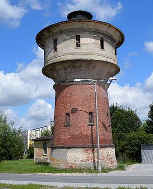 Barcin - Barcin historic Water tower, 2009