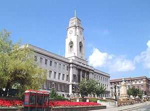 Barnsley Town Hall in central Barnsley, South ...