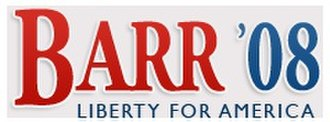 2008 Libertarian National Convention - Image: Barr logo