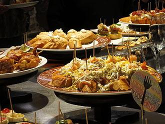 Spanish cuisine - Pintxos in San Sebastián