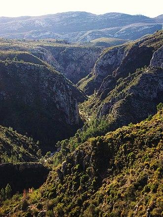 La Vall d'Ebo - Image: Barranc de l'Infern, la Vall d'Ebo