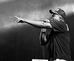 Barrington Levy in Geel, Belgium