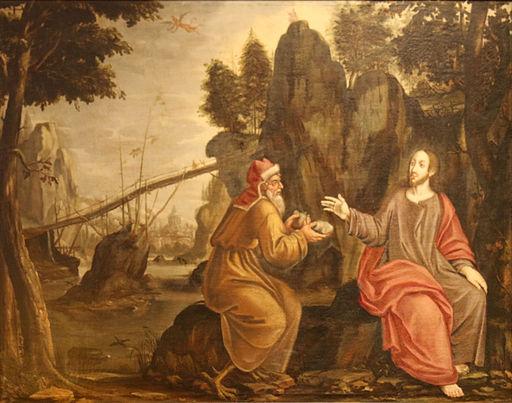 Barthélemy Parrocel-Jésus au désert