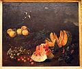 Bartolomeo bimbi, natura morta con frutta e due cardellini, ante 1697, 02.JPG