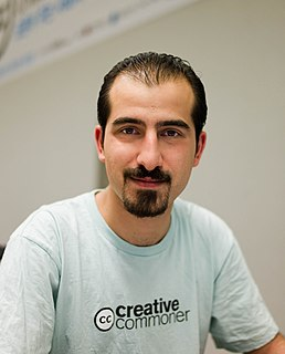 free culture and democracy activist, Syrian political prisoner