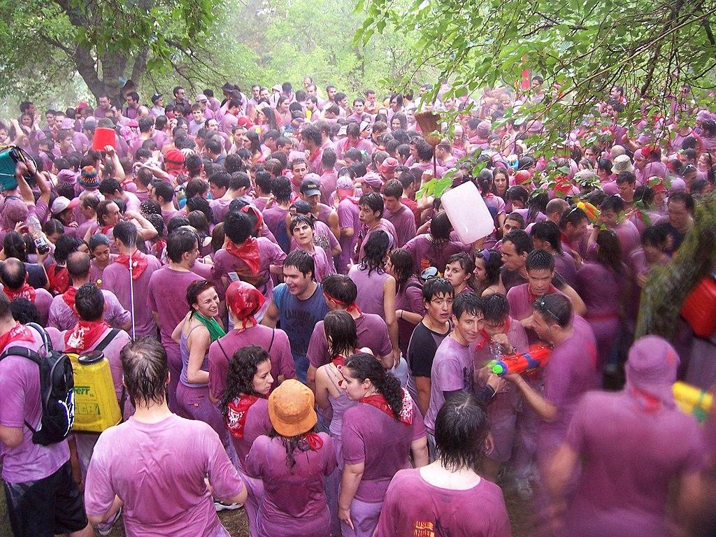 Batalla del Vino - Haro - La Rioja