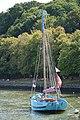Bateau de pêche breton dans le petit port fluvial de la rivière d'Auray, ici en aout 2018.jpg