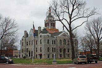 Bates County, Missouri - Image: Bates County Courthouse
