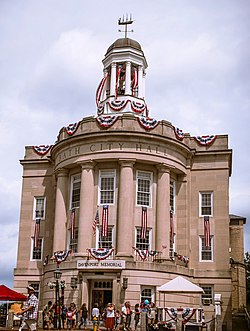 Bath City Hall, Maine, USA 4th of July Photo.jpg