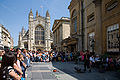 Bath Performer in front of Abbey - July 2006.jpg