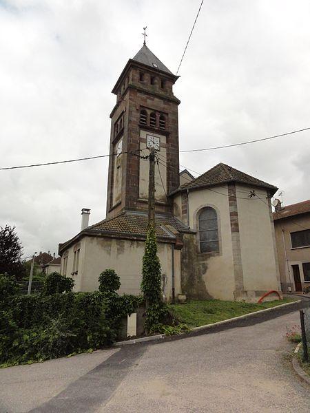 Bathelémont (M-et-M) église
