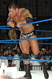 Batista als World Heavyweight Champion