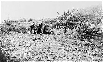 Members of the 1st Newfoundland Regiment at the Battle of Albert, 1916 Battle of Albert.jpg