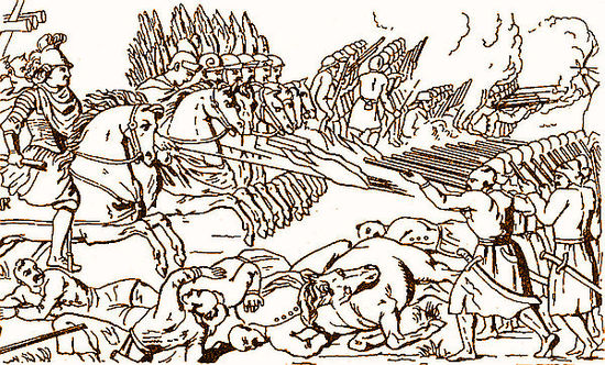 The Battle of Berestechko by Vernier Battle of Beresteczko 1651.jpg