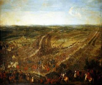 Battle of Fleurus (1690) - Battle of Fleurus by Pierre-Denis Martin