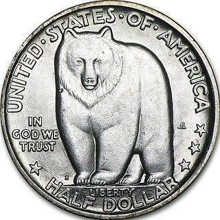 San Francisco–Oakland Bay Bridge half dollar 1936 US commemorative coin
