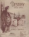 Baynes, Sydney - Destiny Valse Lente (1912).jpg