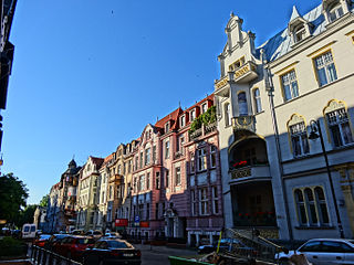 August Cieszkowski Street in Bydgoszcz street in Bydgoszcz