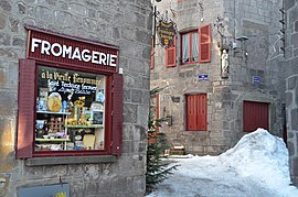 The cheese shop in Besse
