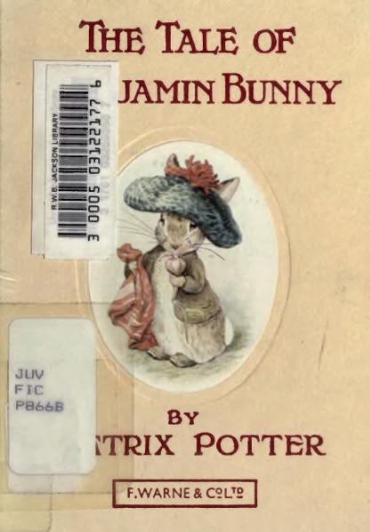 File:Beatrix Potter - The Tale of Benjamin Bunny.djvu