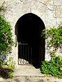 Beaumont-du-Périgord Bannes église entrée.JPG