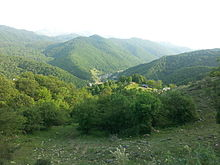 Beautiful view in Toganali village from the top in Goygol region of Azerbaijan.jpg