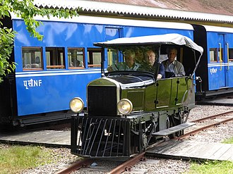 Steeple Aston - Ford Model T on Beeches Light Railway