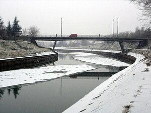 Bega (Tisza) - Bridge over the Bega in Zrenjanin, Serbia