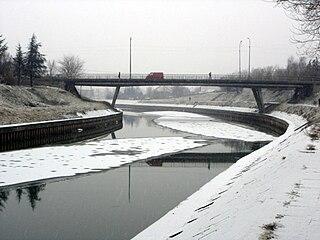 Bega (Tisza) river in Romania and Serbia