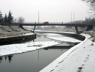 Bega (Tisza) - Bridge over the Bega in Zrenjanin, Serbia