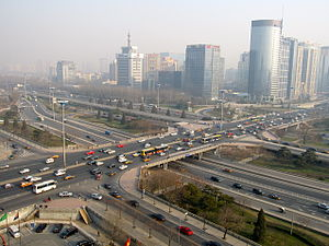 3rd Ring Road (Beijing) - Interchange between the 3rd Ring Road and Airport Expressway.