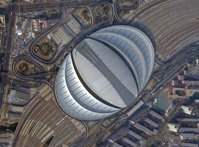 Beijing South Railway Station on 18 February 2017 - SkySat (cropped)