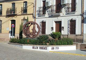 Beas, Spain - Image: Belen Viviente Monumento al Belén Viviente