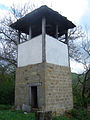 Bell tower of Church of Saint Petka, Bozhenitsa.JPG