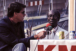 "Mike Shannon - Mike Shannon interviewing James ""Cool Papa"" Bell in 1986."