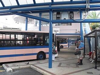 Hamilton, Bermuda - Bus Terminal, Hamilton, Bermuda